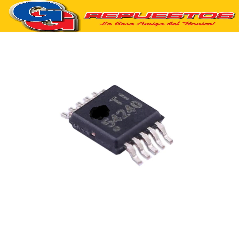 TPS54240DGQR CIRCUITO INTEGRADO -SMD- (3.5V-42V/2700KHZ/4 µA/300 Mohms)