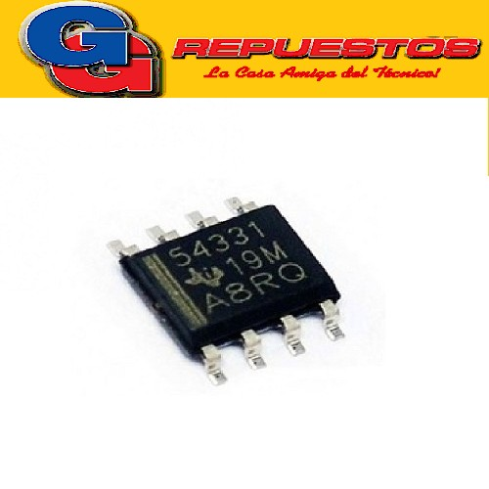 TPS54331DR CIRCUITO INTEGRADO -SMD- (3.5V-28V/2.7Mhz/5.8A)