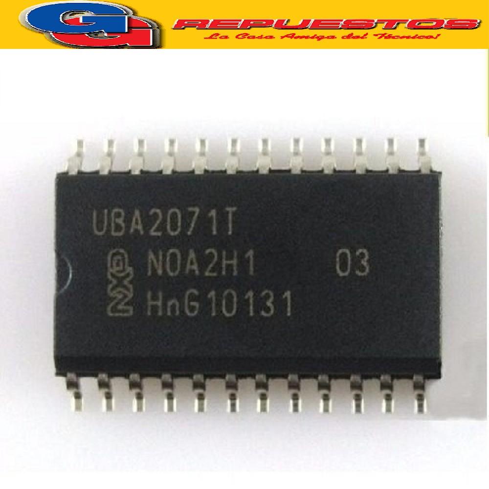 UBA2071AT CIRCUITO INTEGRADO -SMD- (550V/0.22mA/100khz/18.5 Mohms)