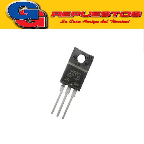STF100N10F7 TRANSISTOR MOSFET CANAL N (100V/30W/45A/0.008 ohms)