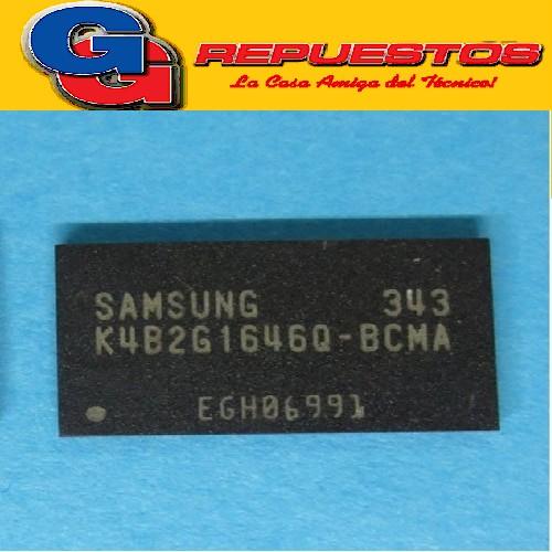 K4B2G1646Q CIRCUITO INTEGRADO CHIP MEMORIA (2Gb Q-DIE  DDR3 SDRAM/16Mbit x 16 I/Os x 8/)