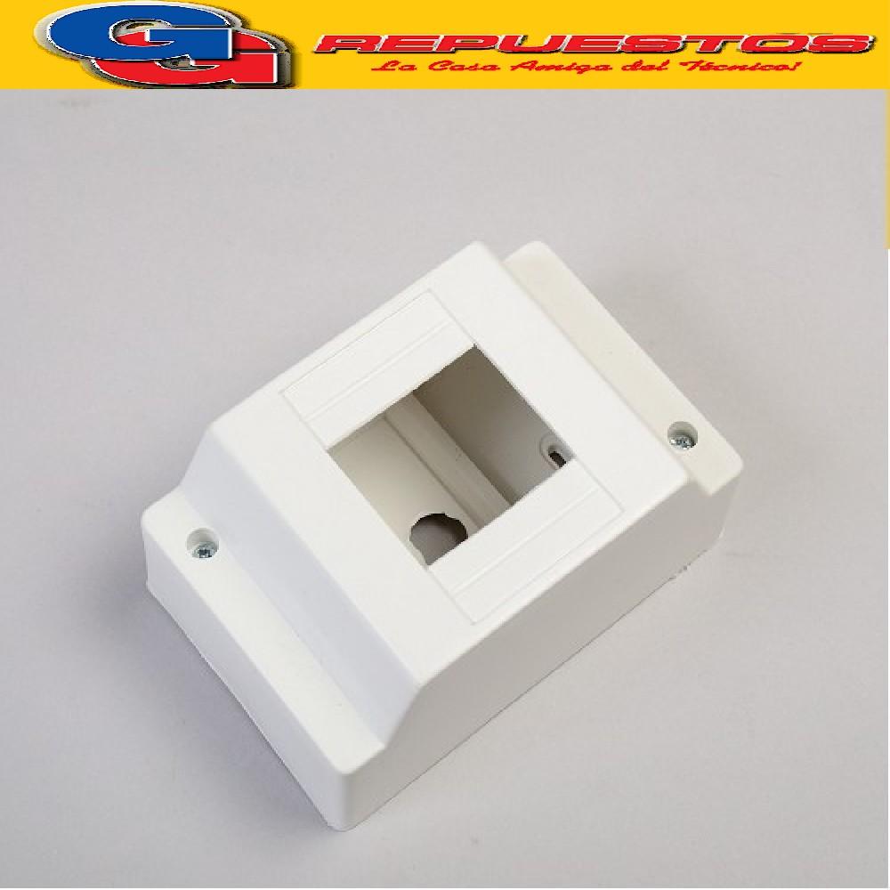 CAJA PVC P/TERMICA EXTERIOR 1/2 S/PUERTA  -(045002B) -DIBAPLAST-