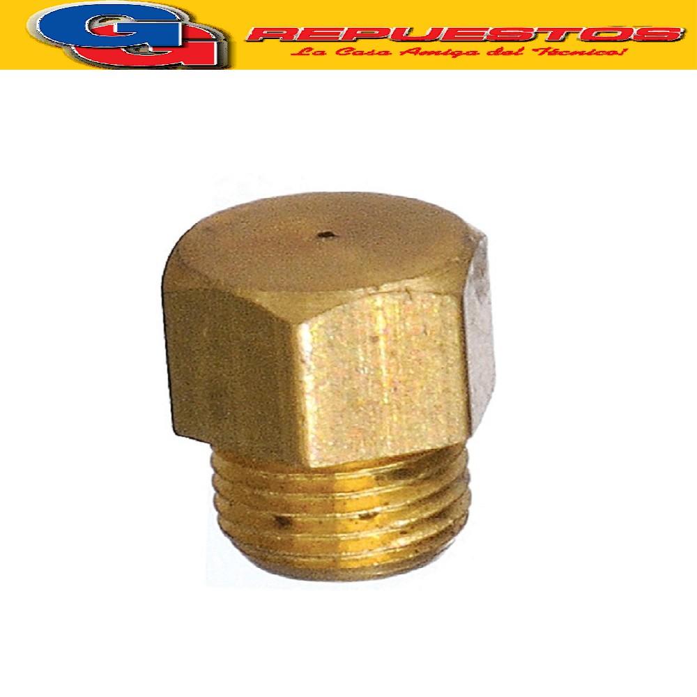 INYECTOR COCINA DOMEC ALTO 9.40 mm , CABEZA EXAGONAL 7 mm , ROSCA 6.20 mm EL DIAMETRO