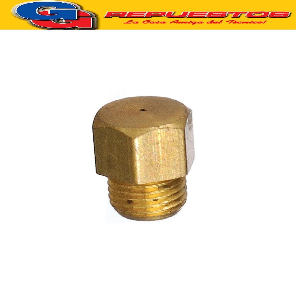 INYECTOR COCINA ESCORIAL CORTO ALTO 10.60 mm , CABEZA EXAGONAL 6.20 mm , ROSCA 4.60 mm EL DIAMETRO