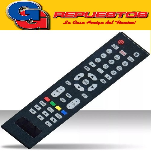 CONTROL REMOTO LED CROWN MUSTANG DALTON