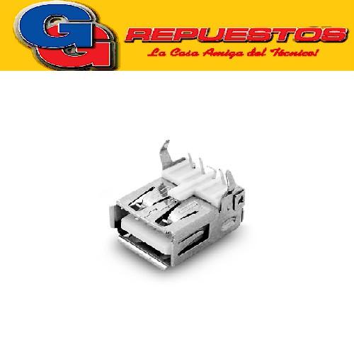 CONECTOR USB TIPO A HEMBRA PARA C.I. DIP 90°