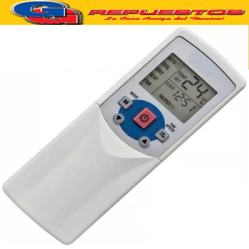 CONTROL REMOTO PARA AIRE BGH, KOMECO A435