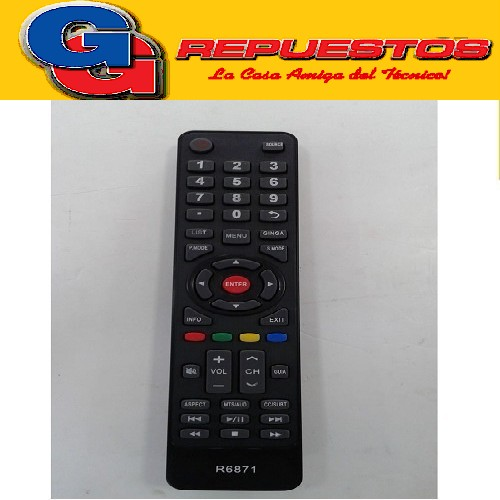 CONTROL REMOTO TOP HOUSE LED SMART R6871 3871