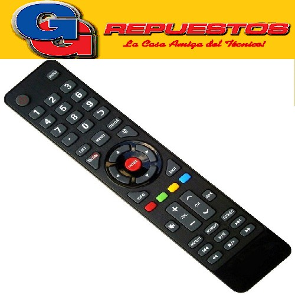 CONTROL REMOTO RCA LED SMART YOUTUBE R6855