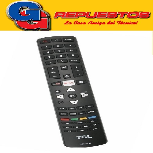 CONTROL REMOTO LED SMART HITACHI-RCA-TCL RC3100L18 LCD483