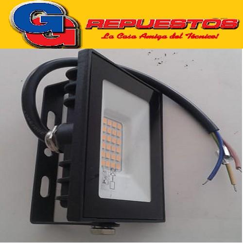 REFLECTOR LED 10W BLANCO CALIDO