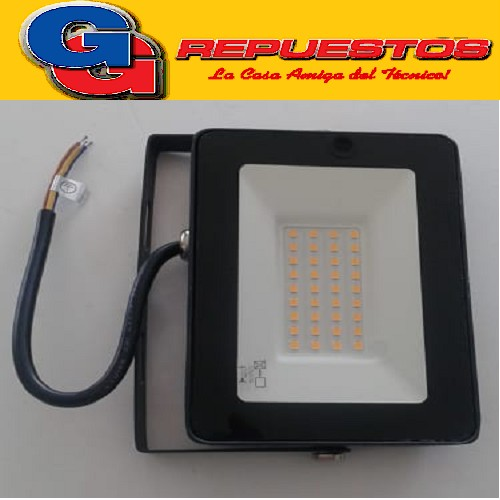 REFLECTOR LED 30W BLANCO CALIDO