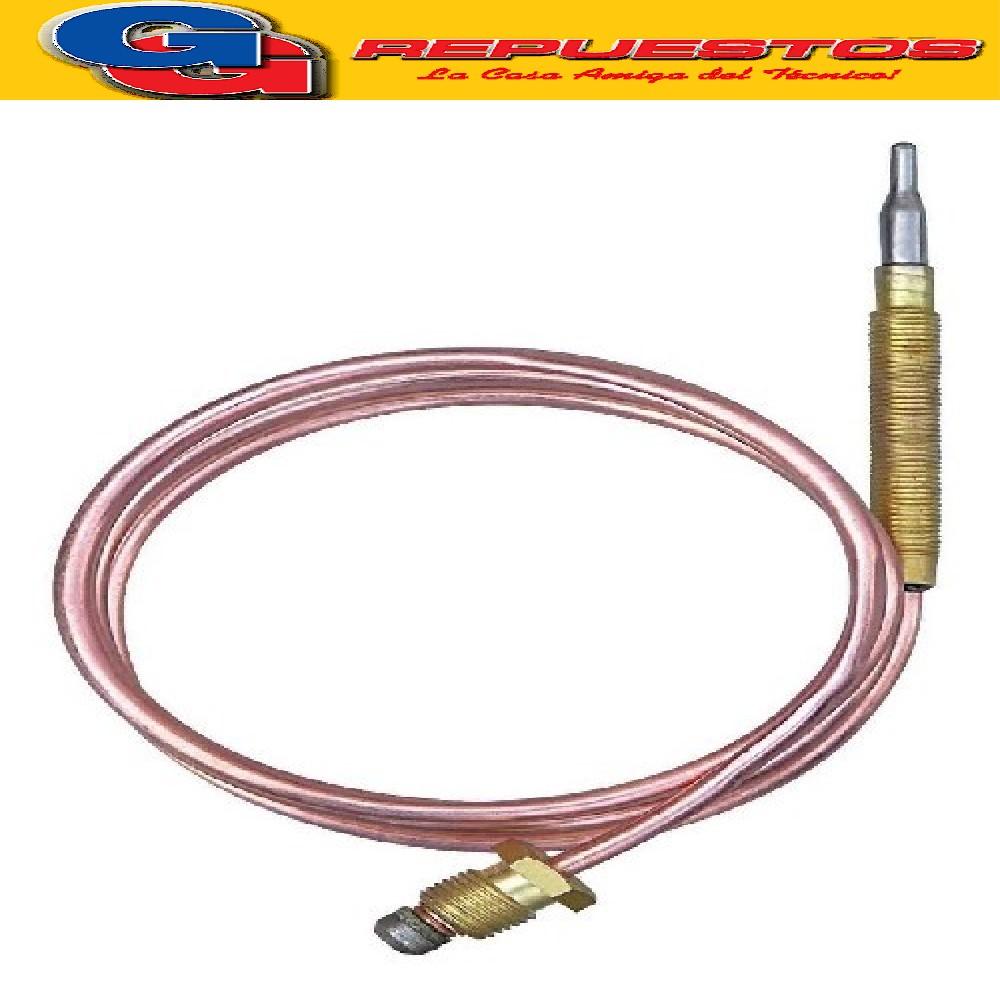 TERMOCUPLA ROSCA 8X1 1100 MM (TER 11) PARA COCINA, CALEFON, TERMOTANQUE Y CALEFACTOR