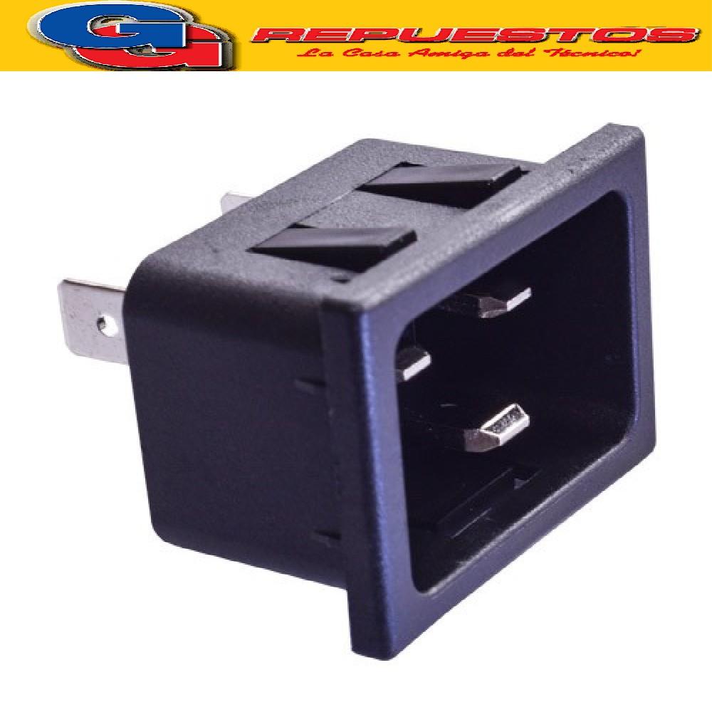 CONECTOR C20 MACHO P/CHASIS (PRESION) BEST