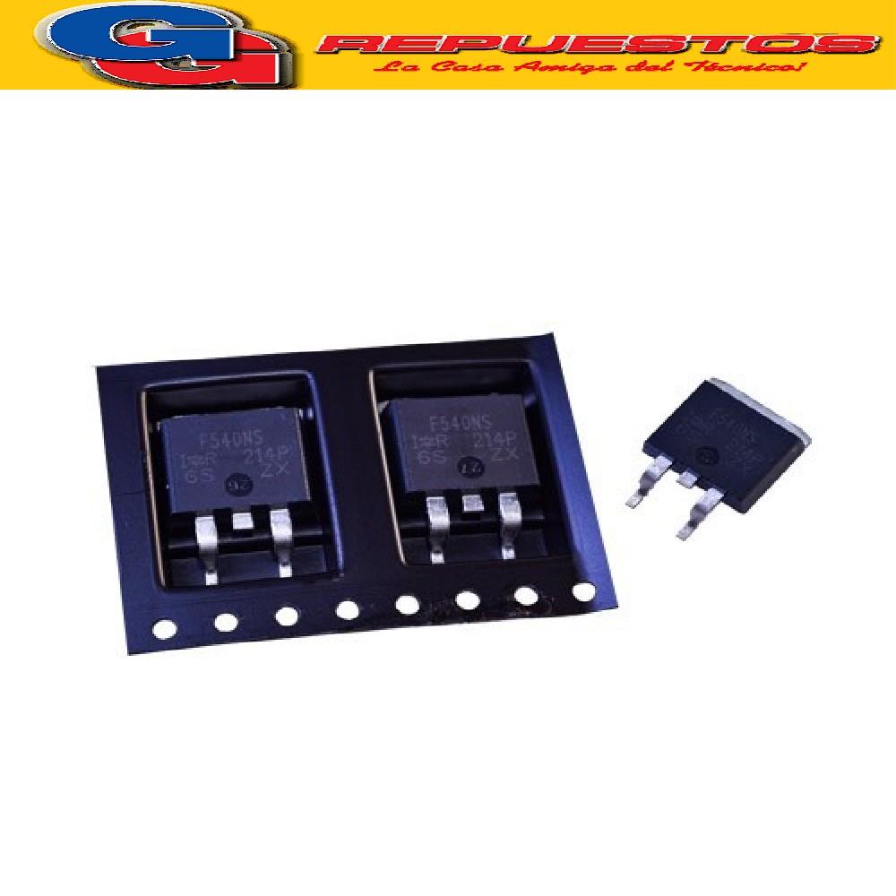 TRANSISTOR MOSFET IRF540NS/IR N-CH 30A 100V .077 E D2PAK SMD