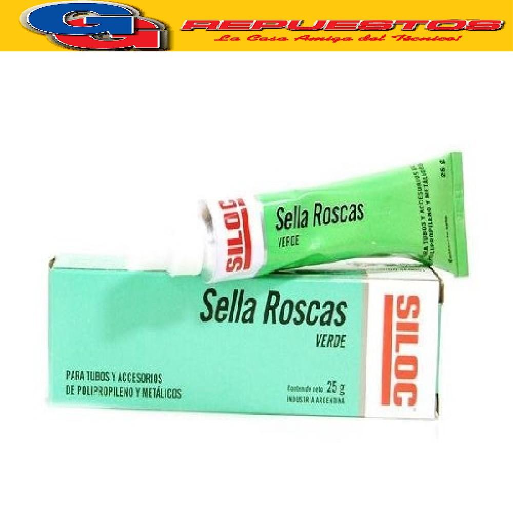 SELLA ROSCA VERDE (P/CAÑO DE POLIPROPILENO) 25 CM3
