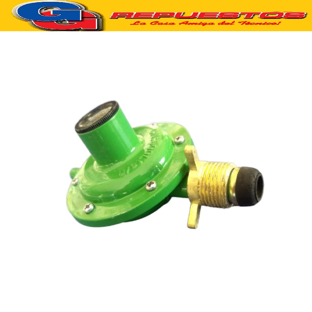 CABEZA REGULADOR DE GAS P/GARRAFA 10KGS IMPORTADO SIN MANGUERA