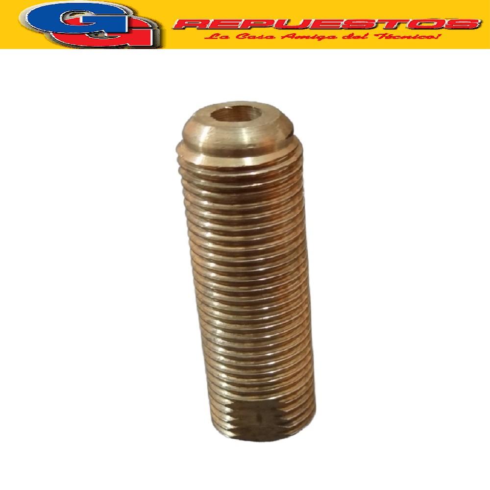 PORTA INYECTOR MACHO - MACHO CORTO 30 mm