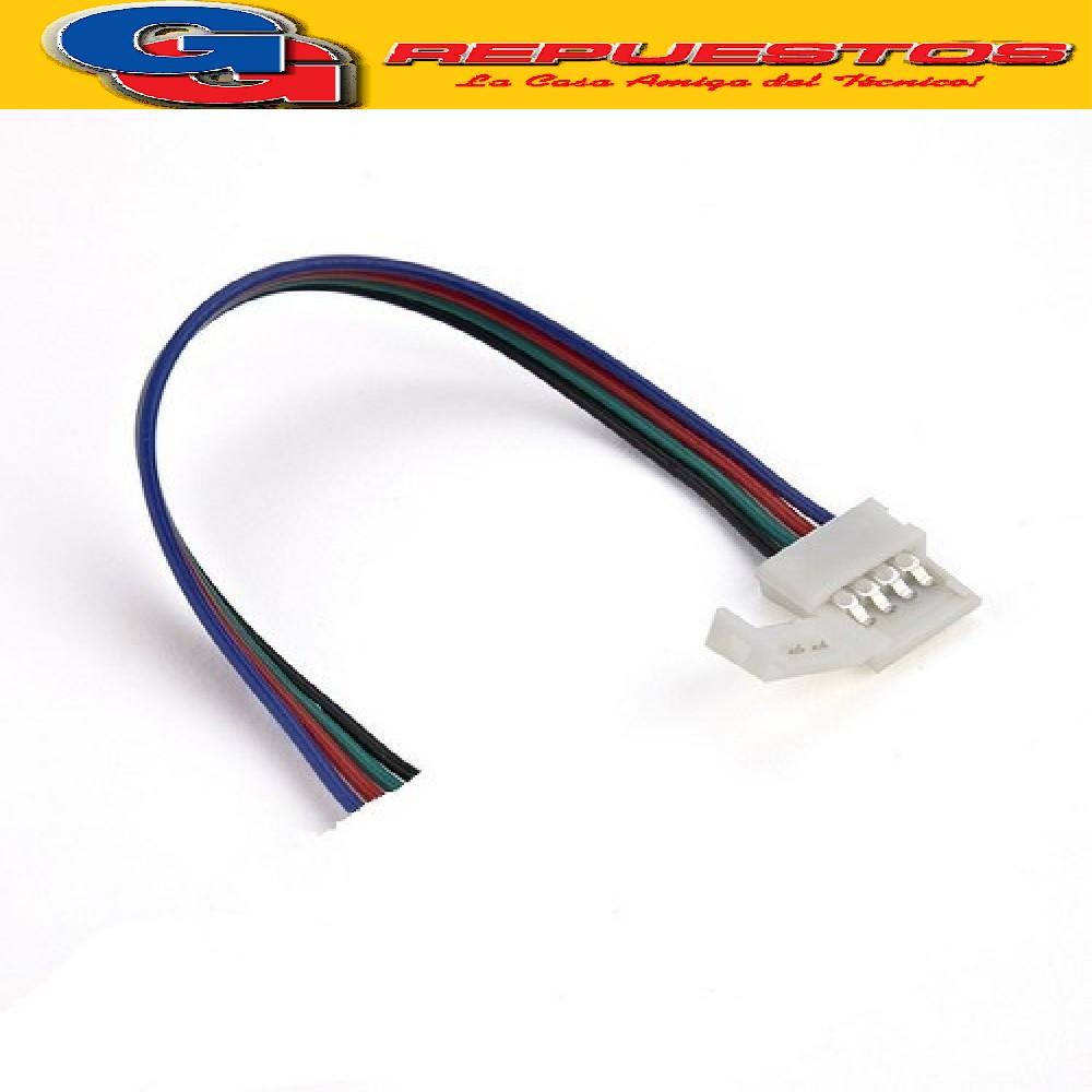 LED92 - FICHA CON CABLE 4 CONTACTOS LEDS BACKLIGHT, MODULOS Y VARIOS