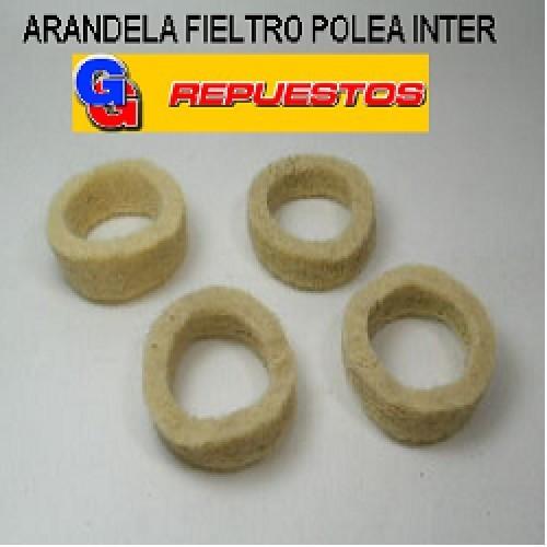 ARANDELA FIELTRO POLEA INTERNACIONAL ARANDELA FIELTRO PARA BUJE GRANDE VENTILADOR
