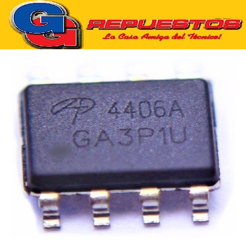 AO 4406A TRANSISTOR SMD 30V N-Channel MOSFET