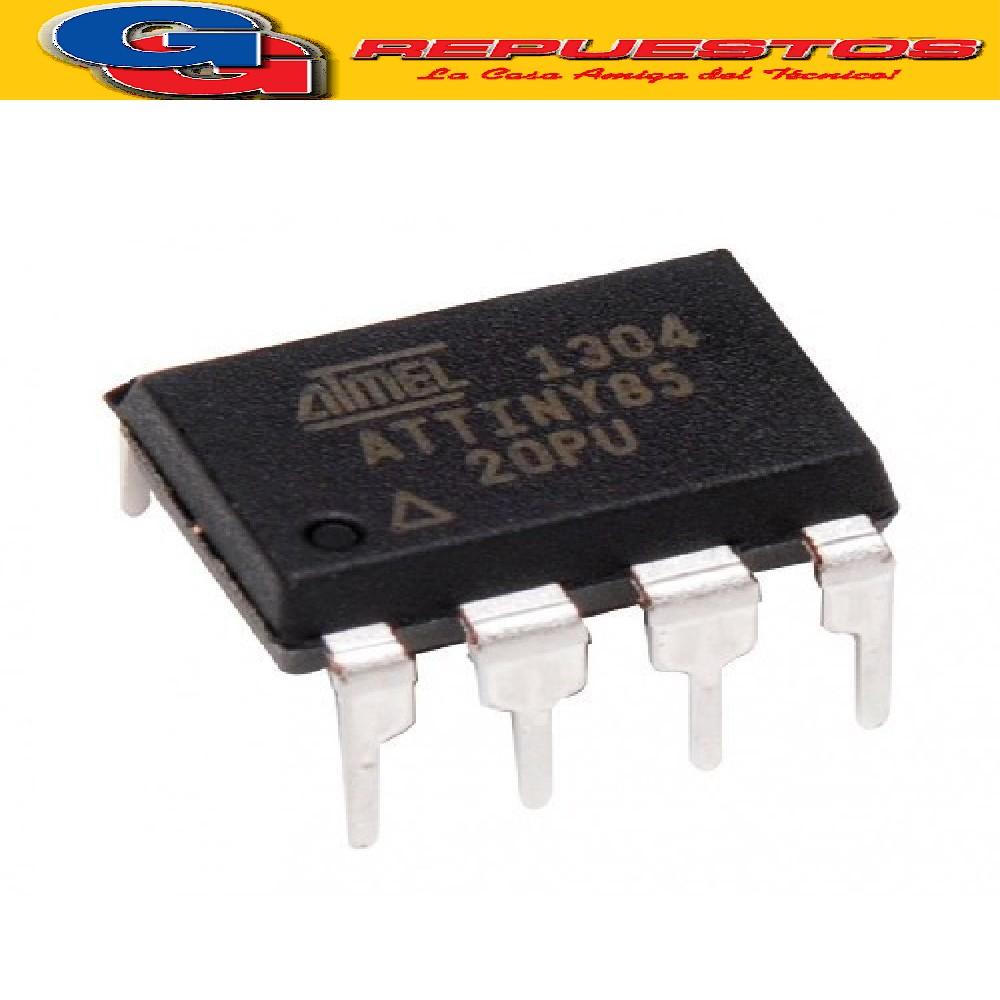 ATTINY 85 - DIP - CIRCUITO INTEGRADO 8-bit Microcontroller with 2/4/8K Bytes In-System Programmable Flash