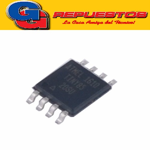 ATTINY 85 - SMD - CIRCUITO INTEGRADO 8-bit Microcontroller with 2/4/8K Bytes In-System Programmable Flash
