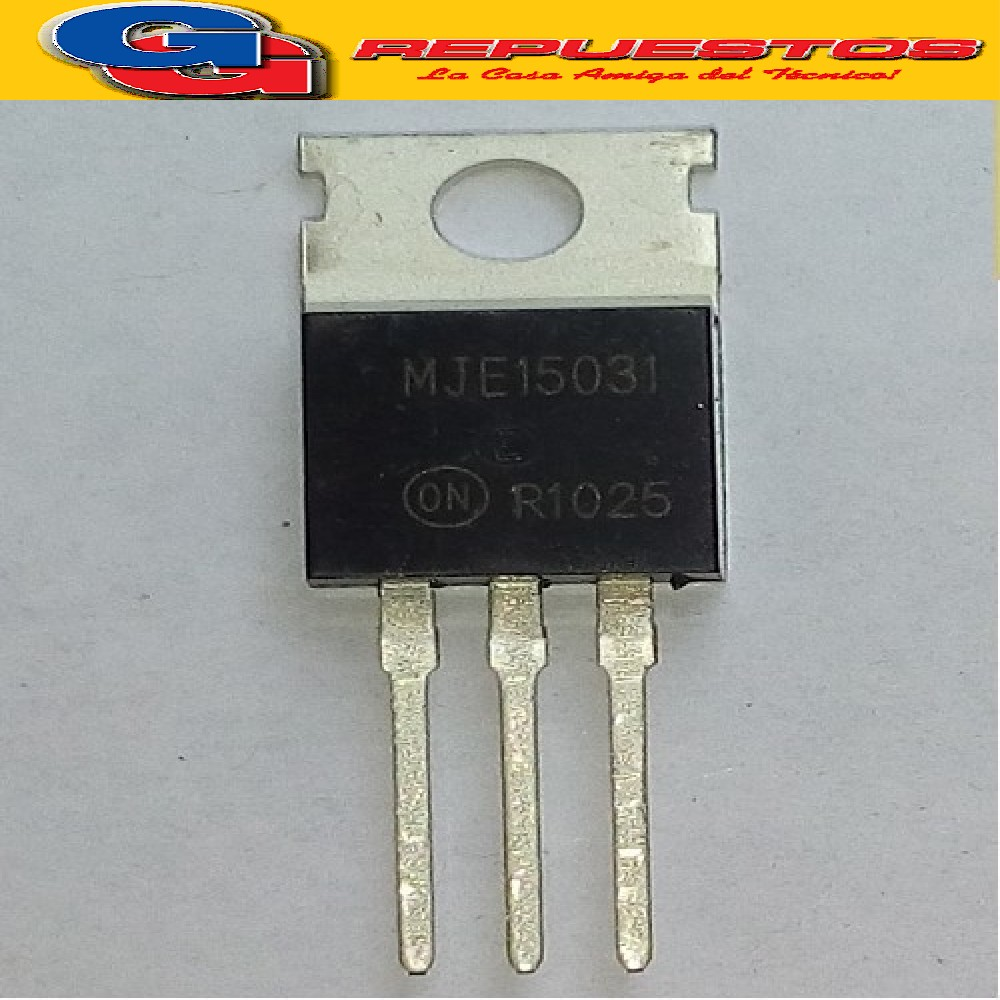 MJE 15031 - TO220 - 8 AMPERE POWER TRANSISTORS COMPLEMENTARY SILICON 120-150 VOLTS 50 WATTS