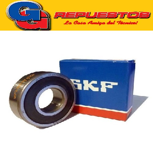 RULEMAN 6200 2RS SKF 10 mm x 30 mm x 9 mm