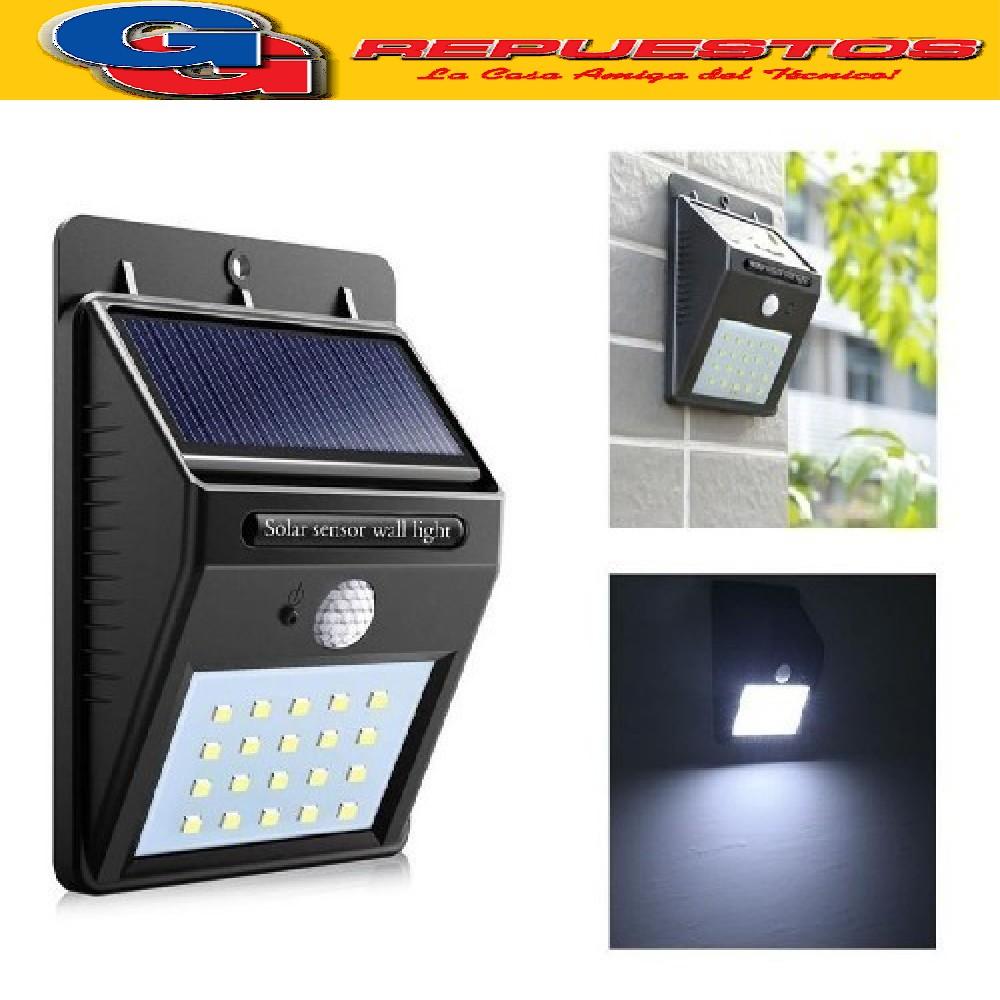 REFLECTOR SOLAR 20 LED