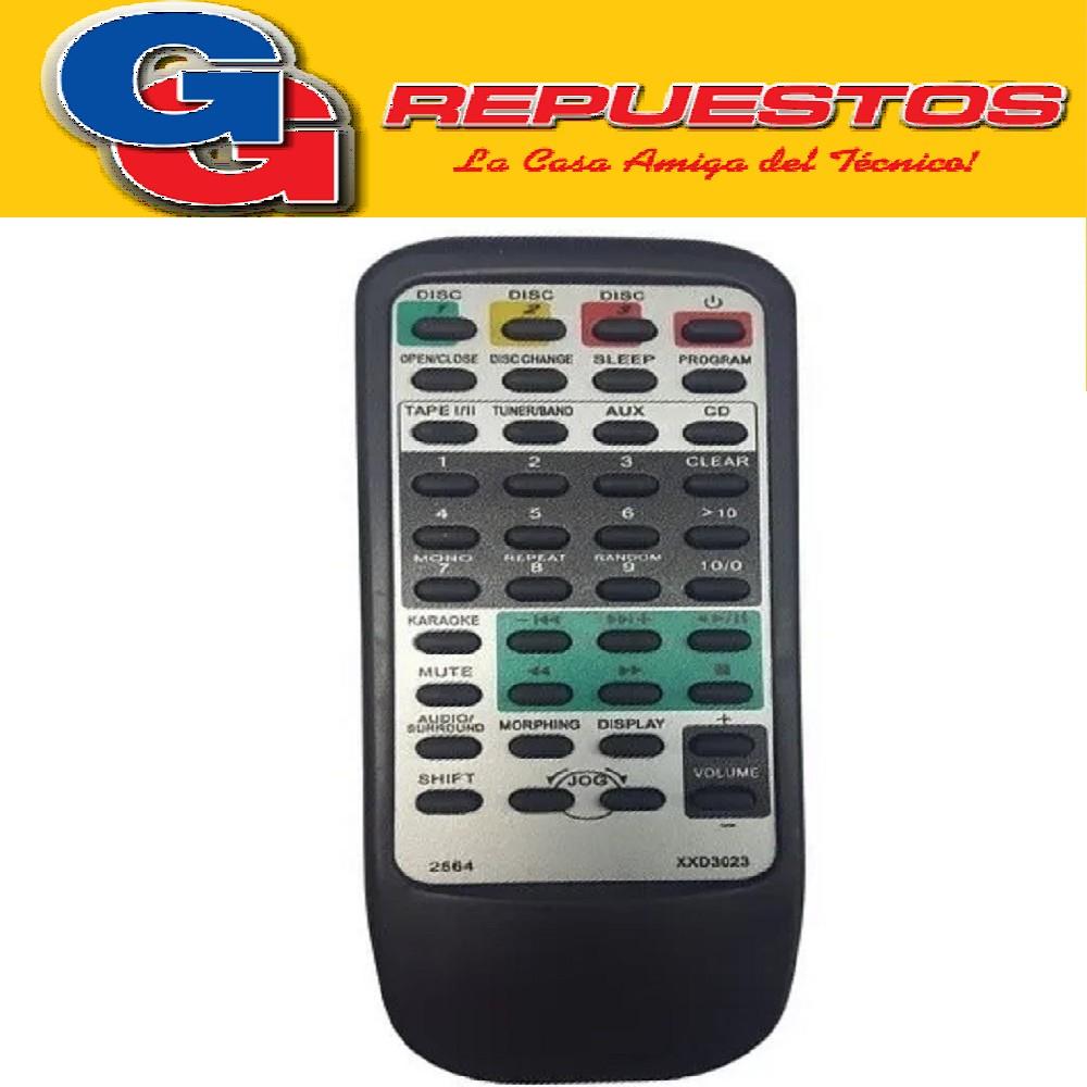 CONTROL REMOTO TIPO PIONEER PARA EQUIPOS DE AUDIO