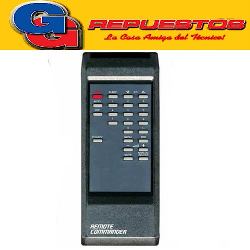 CONTROL REMOTO TV CROWN MUSTANG (2756)