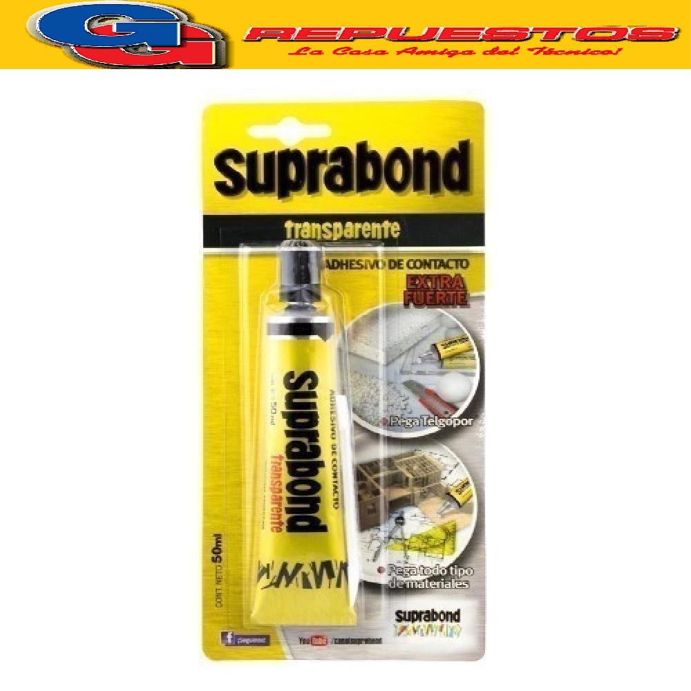 ADHESIVO DE CONTACTO TRANSPARENTE BLISTER 50 ml SUPRABOND