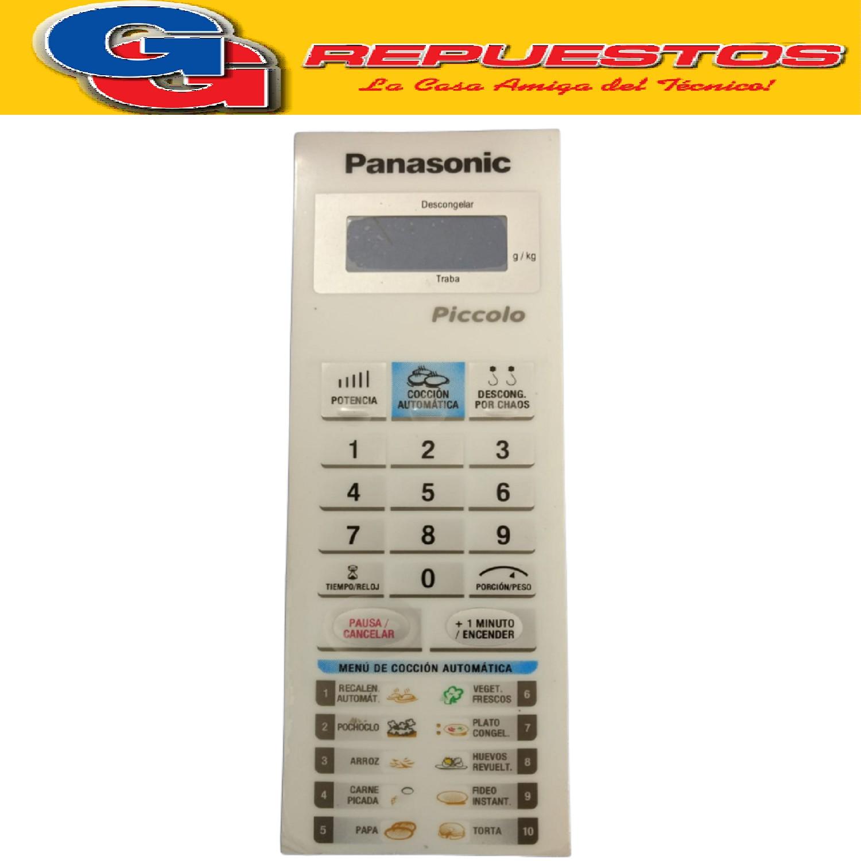TM50 - TECLADO MICROONDAS PANASONIC PICCOLO ALTO 20,5 CM ANCHO 7 CM