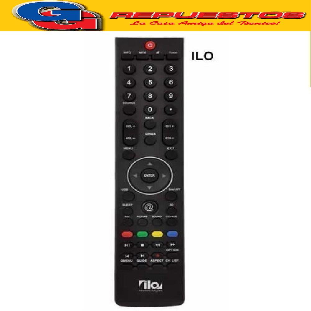 CONTROL REMOTO LCD LED ILO @ LCD494 RCU-321