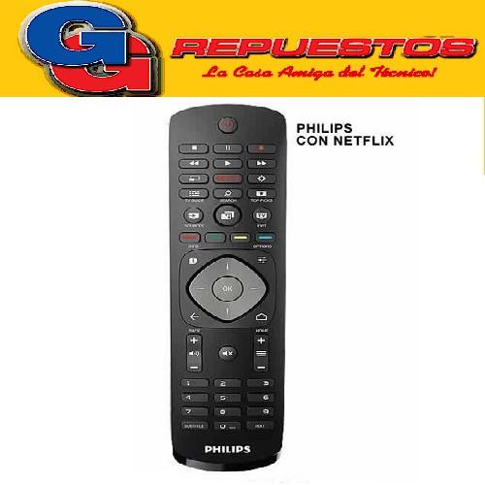 CONTROL REMOTO LCD LED SMART PHILIPS RCU-338