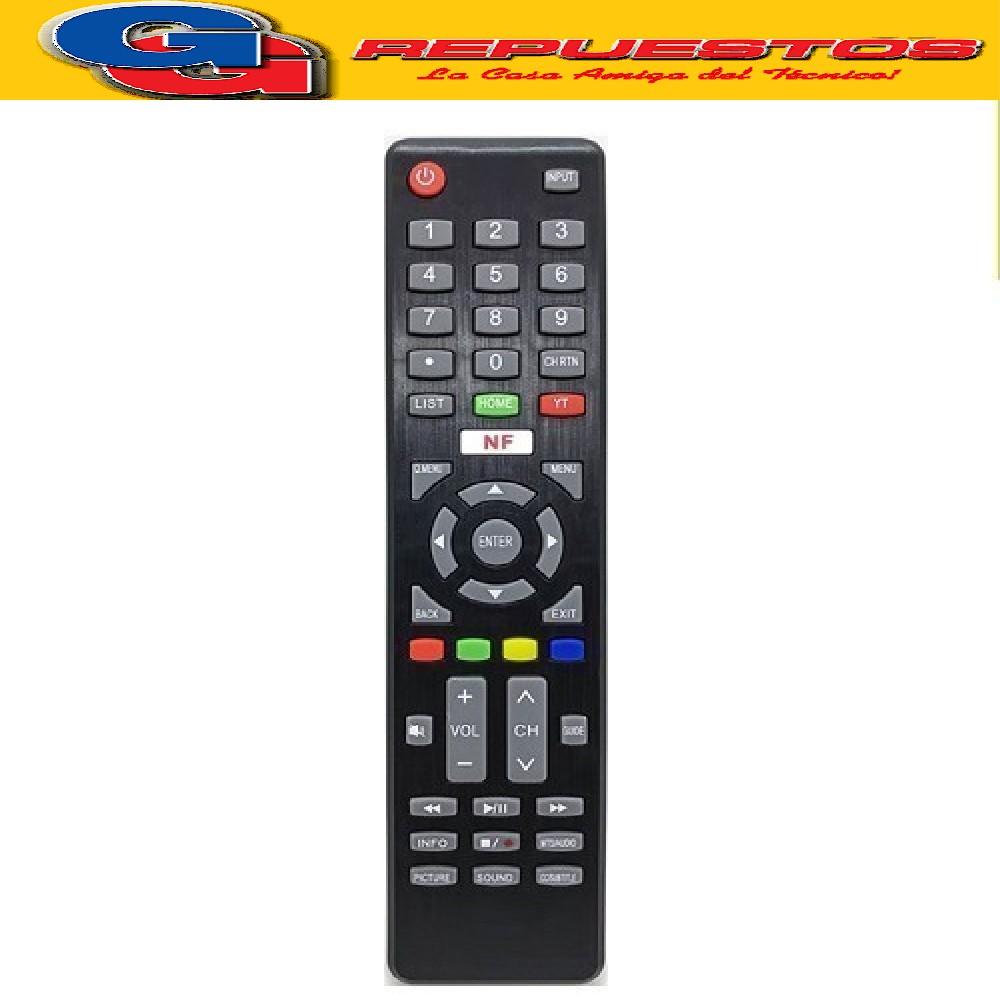 CONTROL REMOTO LCD LED SAMRT - KODAK, TOP HOUSE, TELEFUNKEN MLCD96 RCU-347
