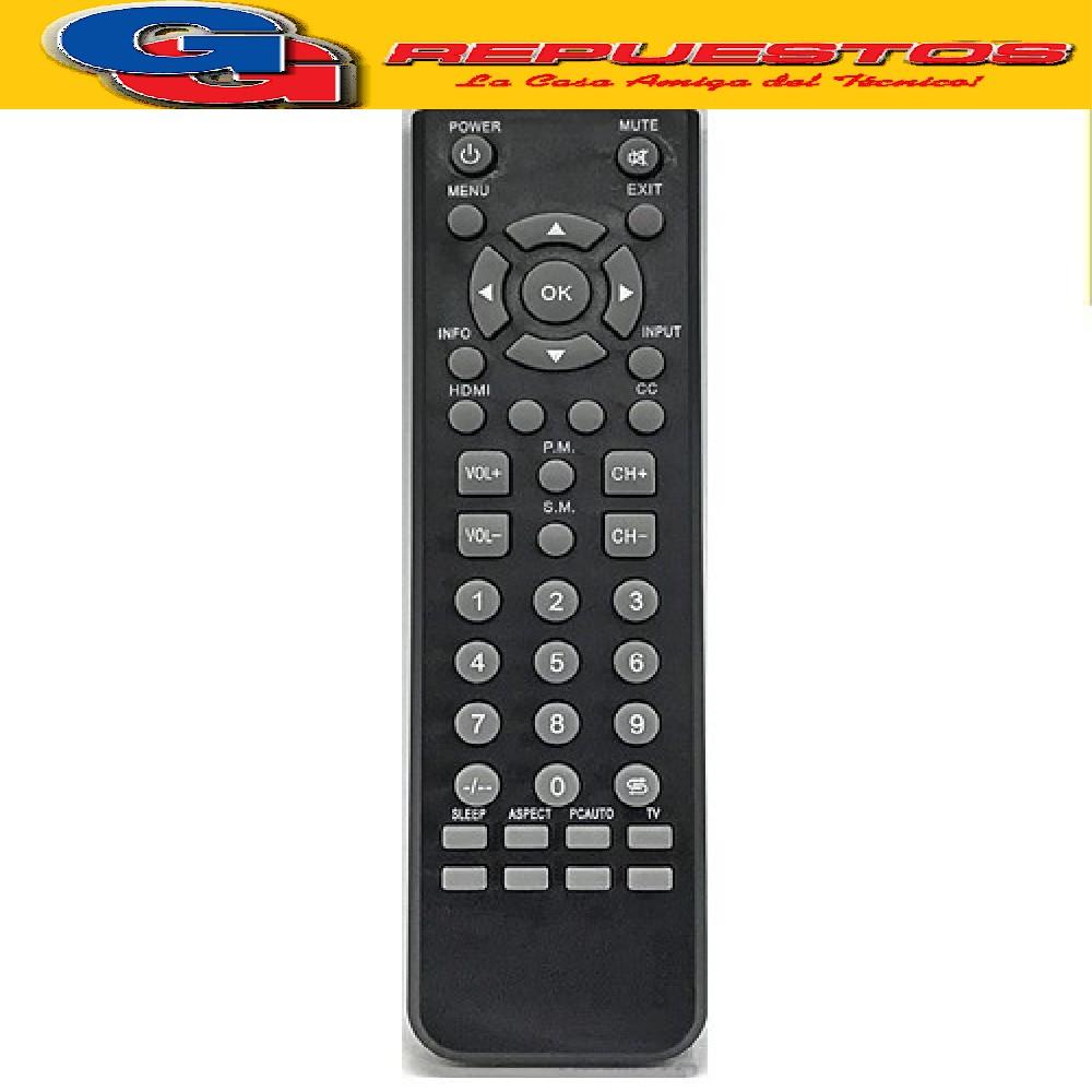 CONTROL REMOTO LCD LED AKAI RCU-251