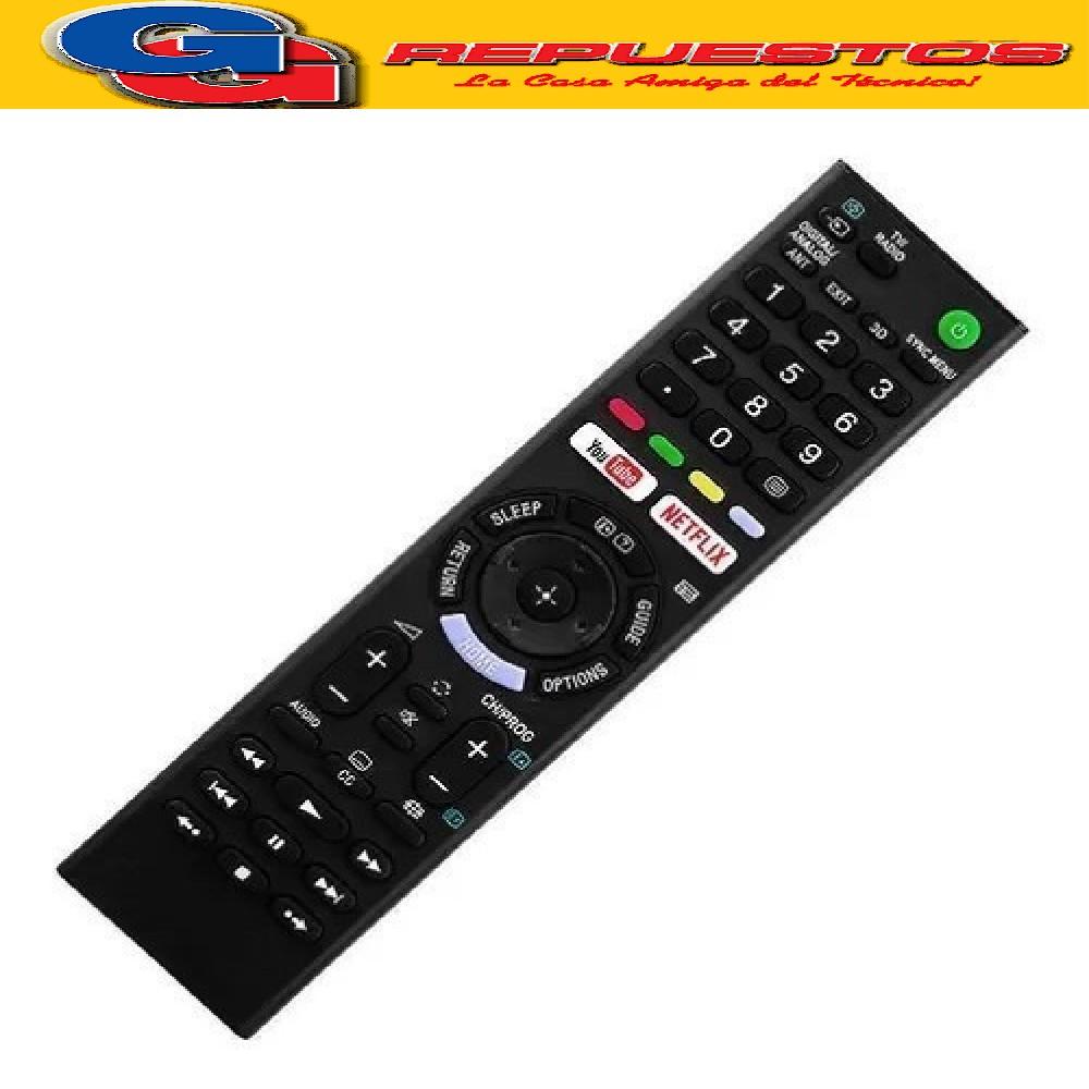 CONTROL REMOTO LED SMART SONY R6928 NETFLIX YOUTUBE