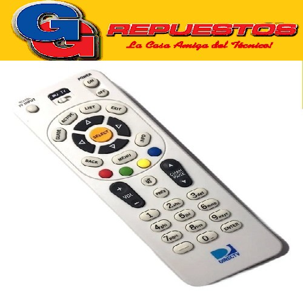 CONTROL REMOTO DIRECTV CHICO R6818