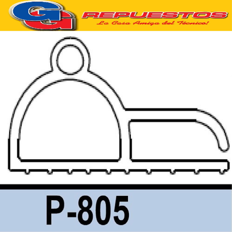 BURLETE P-805 MIRAGE PVC  PARA HELADERAS COMERCIALES X METRO