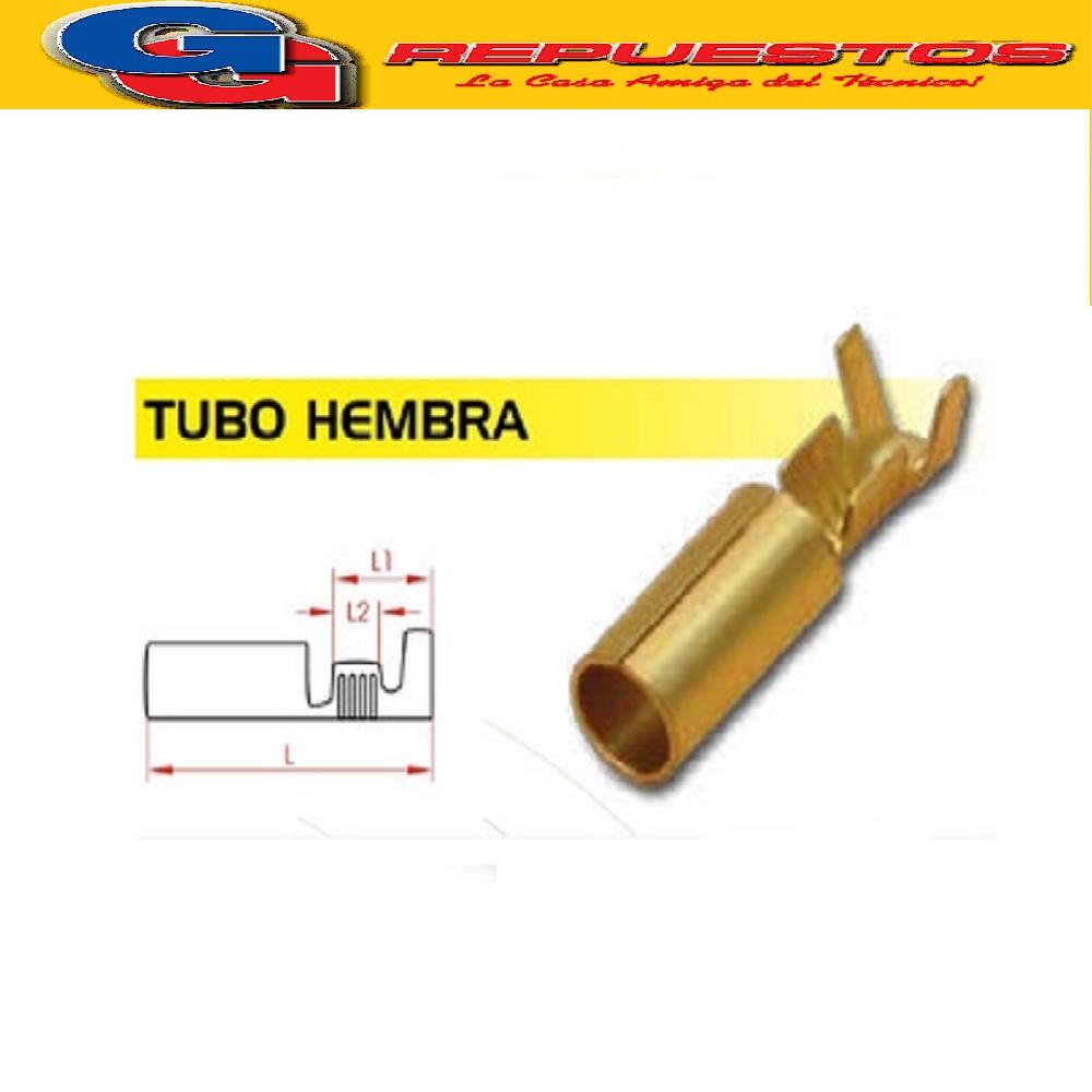 TERMINAL DE CABLE TUBO 3MM DIAMETRO EXTERIOR(ESTAÑADO)
