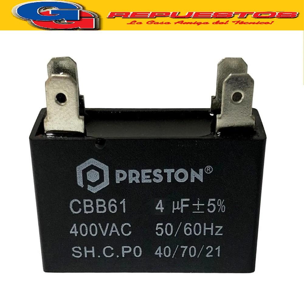 CAPACITOR CUADRADO 450V 4 MF (*)