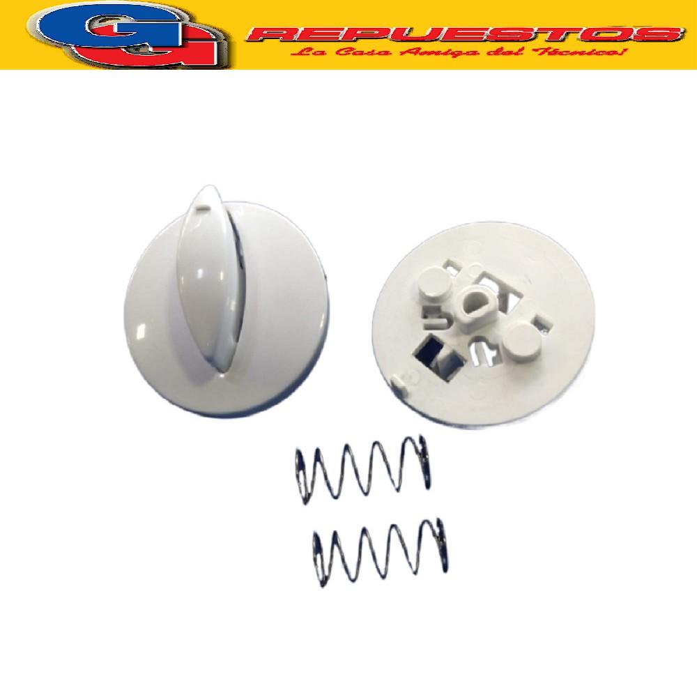 PERILLA CONJUNTO TERMOSTATO LAVARROPAS DREAN EXCELLENT 166C /TC-186TC (PERILLA DREAN EXCELLENT CELESTE CRISTAL ORIGINAL) D02 DREAN EXCELLENT 166TD-186TD (ORIGINAL)  CON AGARRE AZUL O AGARRE BLANCO 701025967