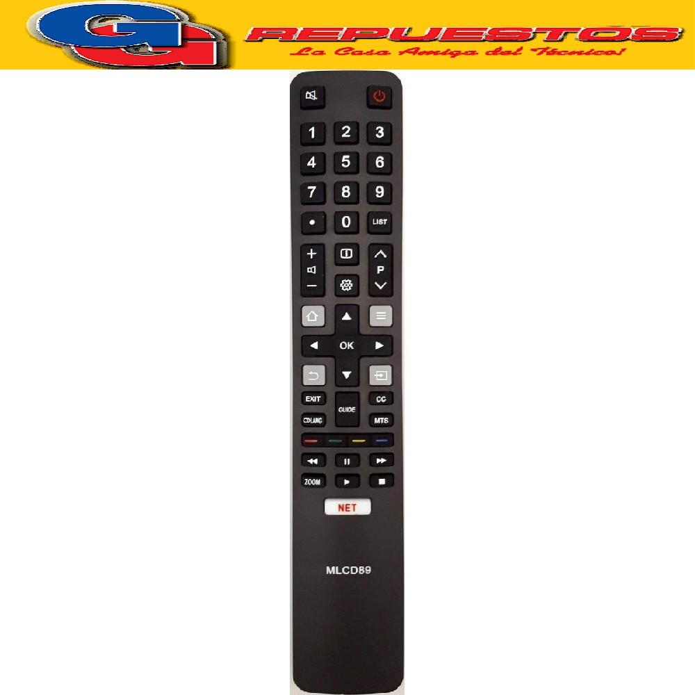 CONTROL REMOTO LED SMART RCA, TCL, HITACHI R5320 R6848= R6859=R5320=3849=3859 REM 189 MLCD89