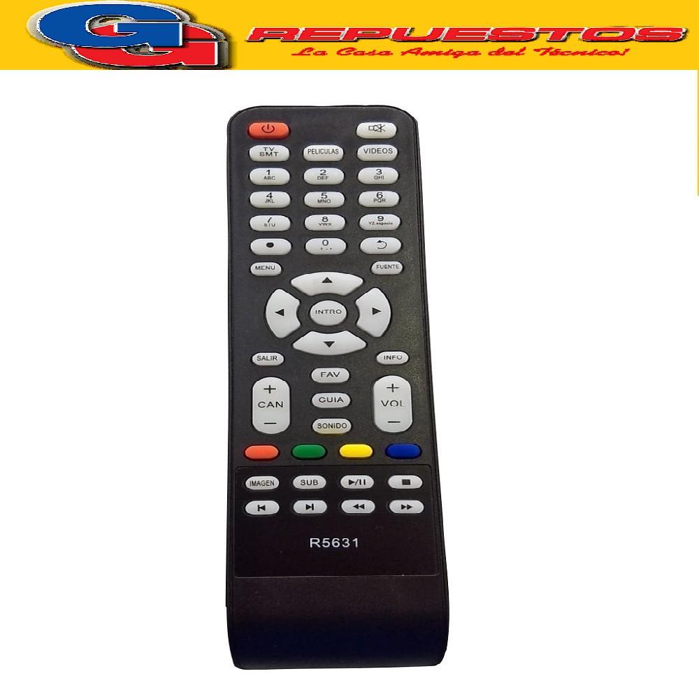 CONTROL REMOTO LED CROWN MUSTANG AUDINAC / DALTON R5631
