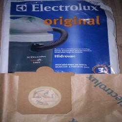 BOLSA ASPIRADORA ELECTROLUX HIDROVAC 1300 PACK X5 8,5CM X 10,5CM DIAM 5,5CM