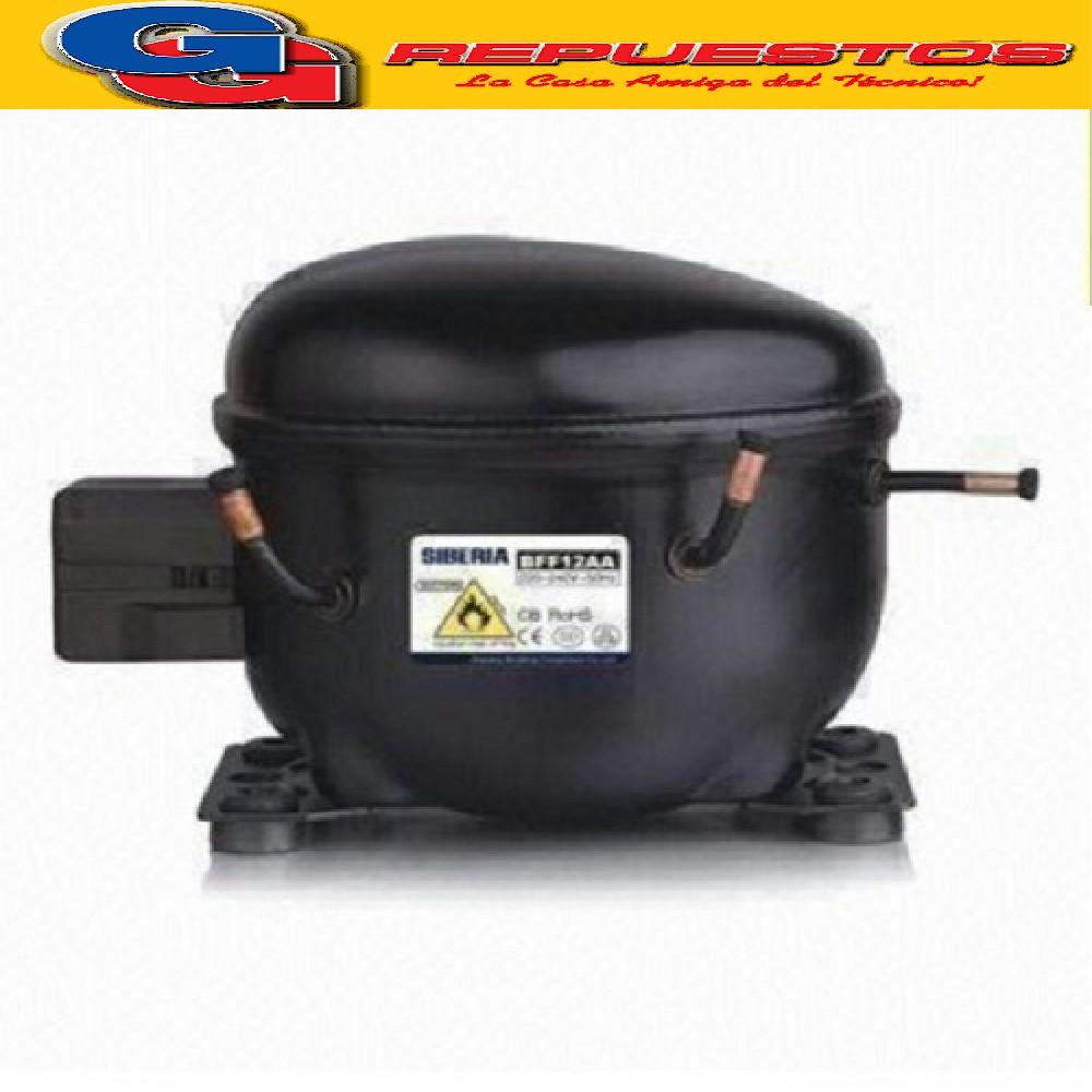 MOTOCOMPRESOR SIBERIA 1/4 HP R600A IC04180538W-BFF12AA