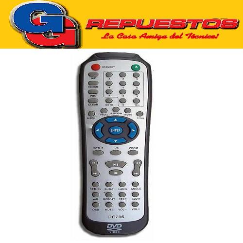 CONTROL REMOTO DVD TAKATA (2959)