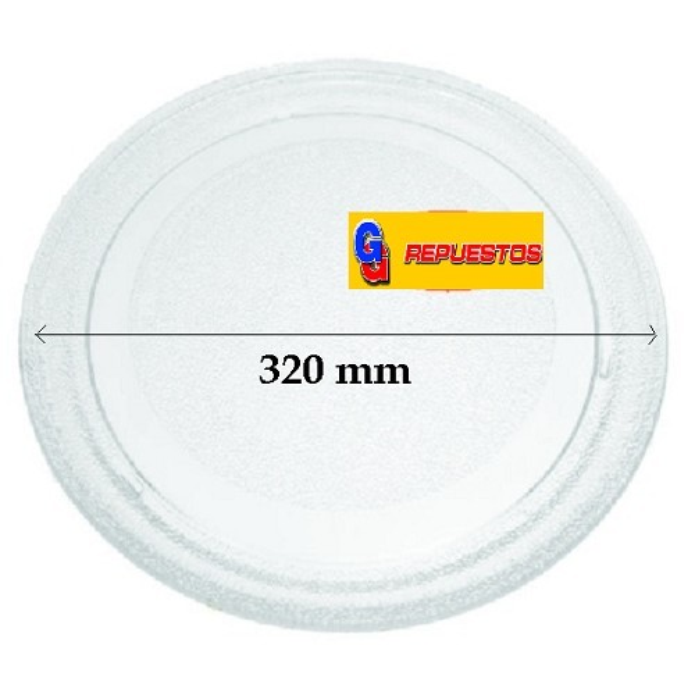 PLATO MICROONDAS 32cm 320-234-204 LISO GRANDE